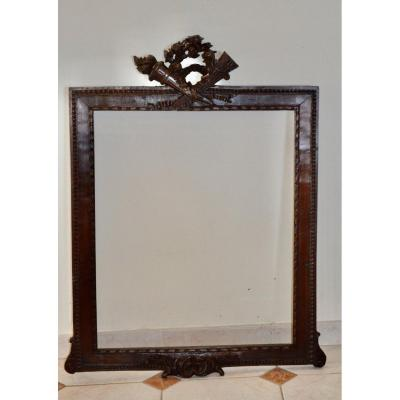 19th Century Carved Wood Frame
