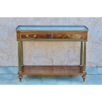 Console En Acajou époque Louis XVI