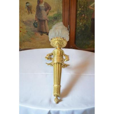 Applique En Bronze Doré Napoléon III