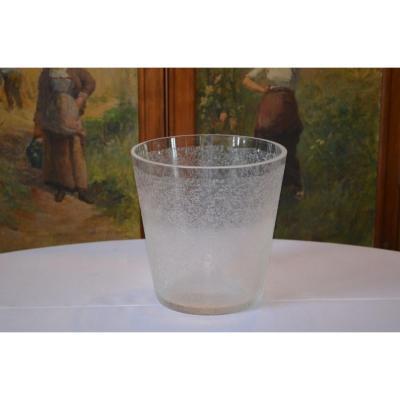 Seau à Champagne En Cristal De Sèvres