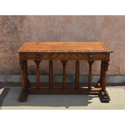 Middle Table Of Renaissance Style XIXth Century