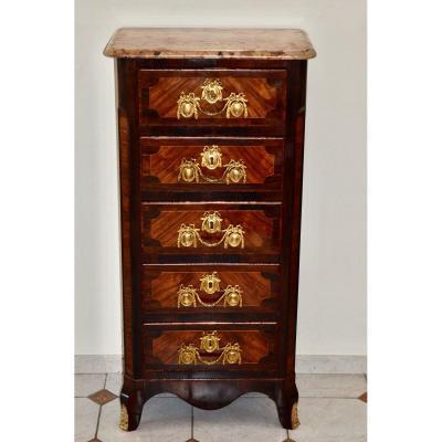 Semainier De Style Louis XV  d'époque  19eme Siècle