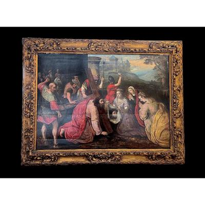 The Veil Of Saint Véronique Master Of The 16th Veronese School