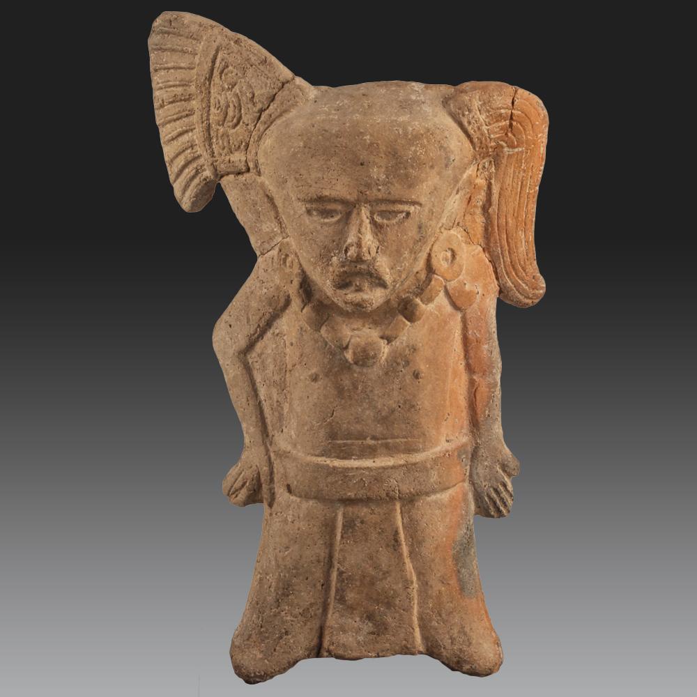 Statuette Representing A Standing Man - Veracruz