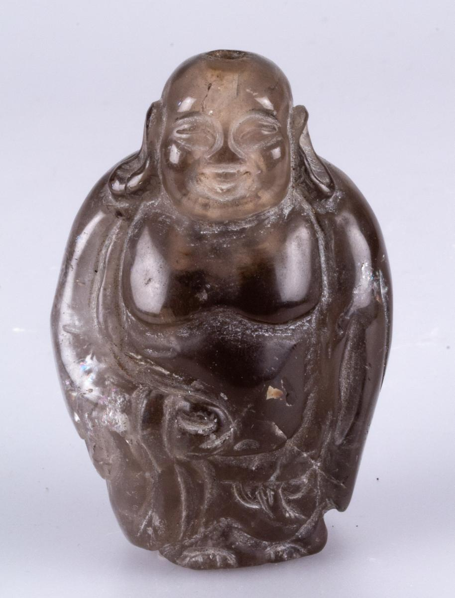 Snuff Bottle Representative A Putail Or A Male Character Breathable Overweight