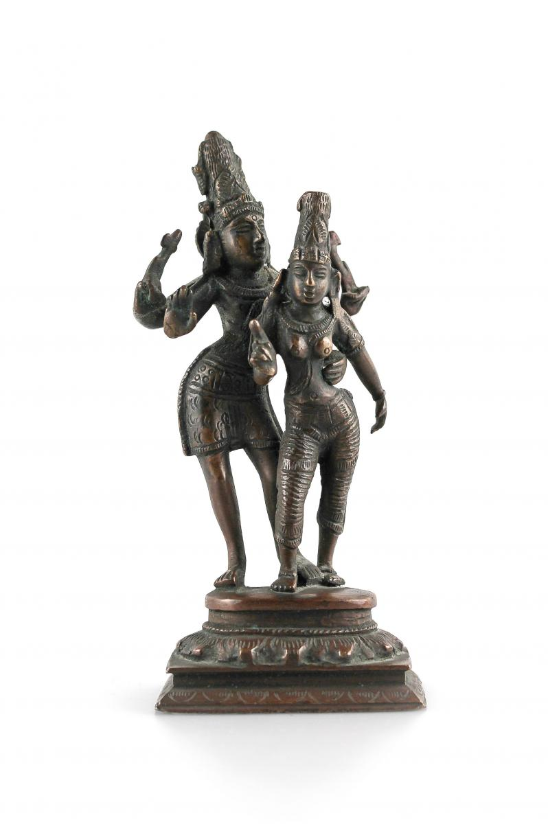 Somaskanda Bronze India, Tamil Region, Attributed To The 18th Or 19th Century