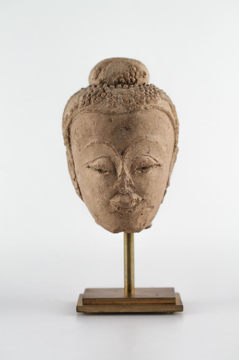 Head - Thailand, Ayutthaya Style, 15th - 16th Centuries