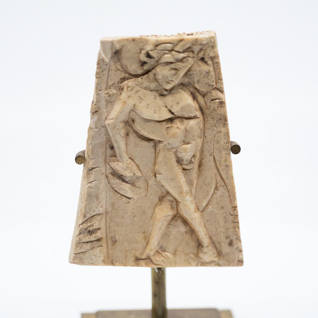 Carved Bone Representative A Dancing Man - Roman 4th-3rd Cent Acn