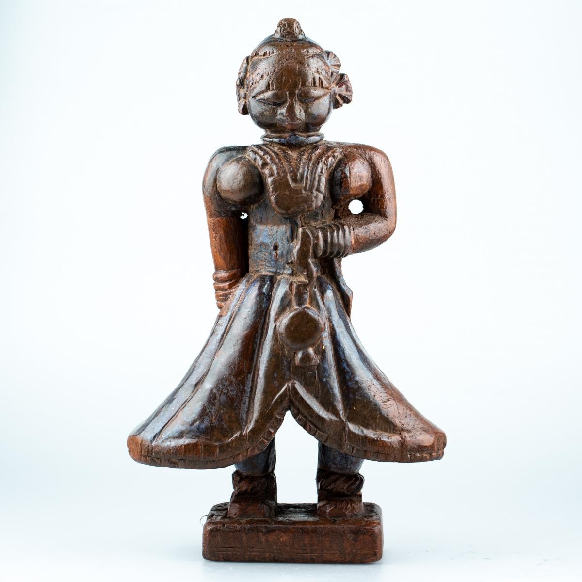 Carved Wood - India 17th Or 18th Century