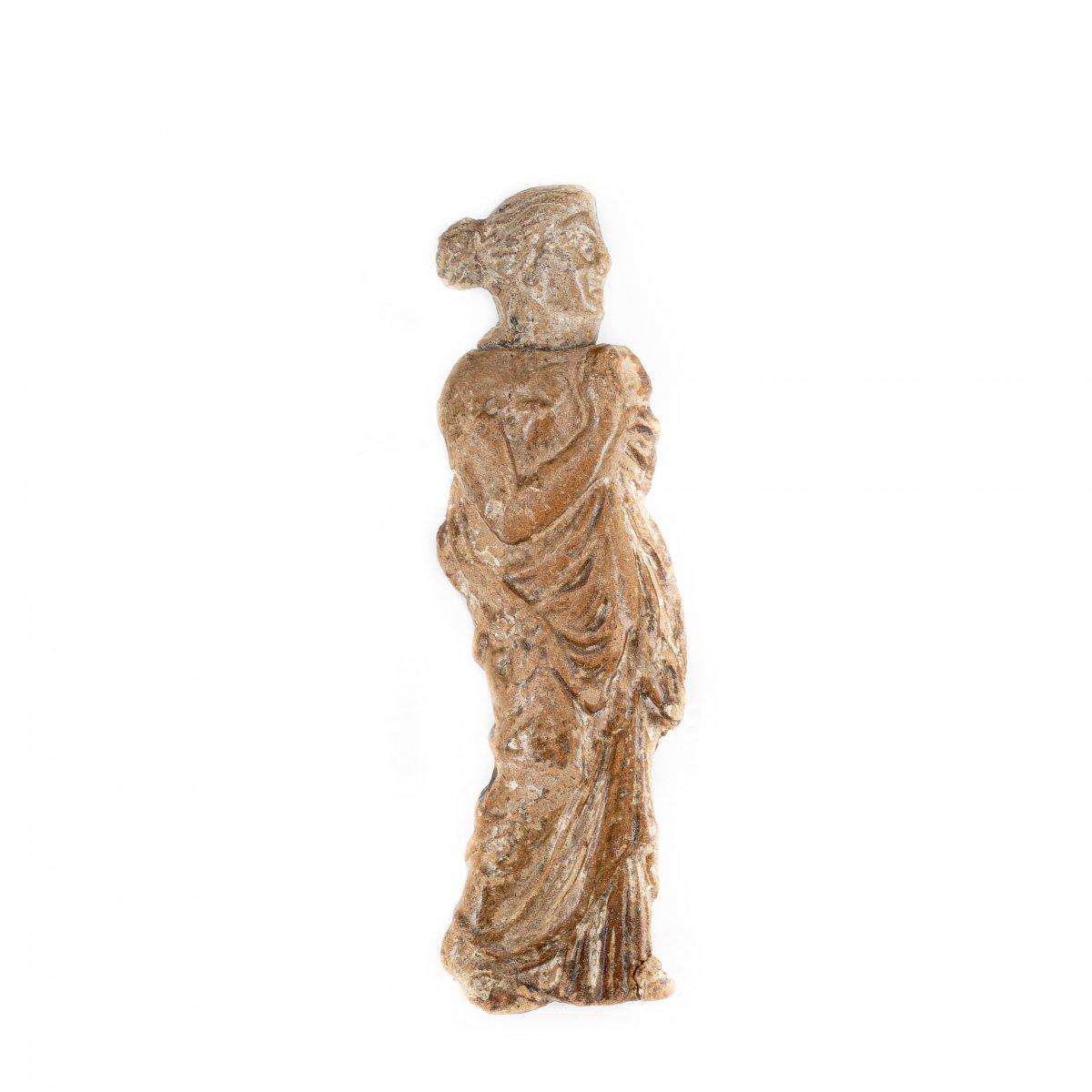 Woman In A Long Chiton - Roman (1st - 3rd Century Pcn)