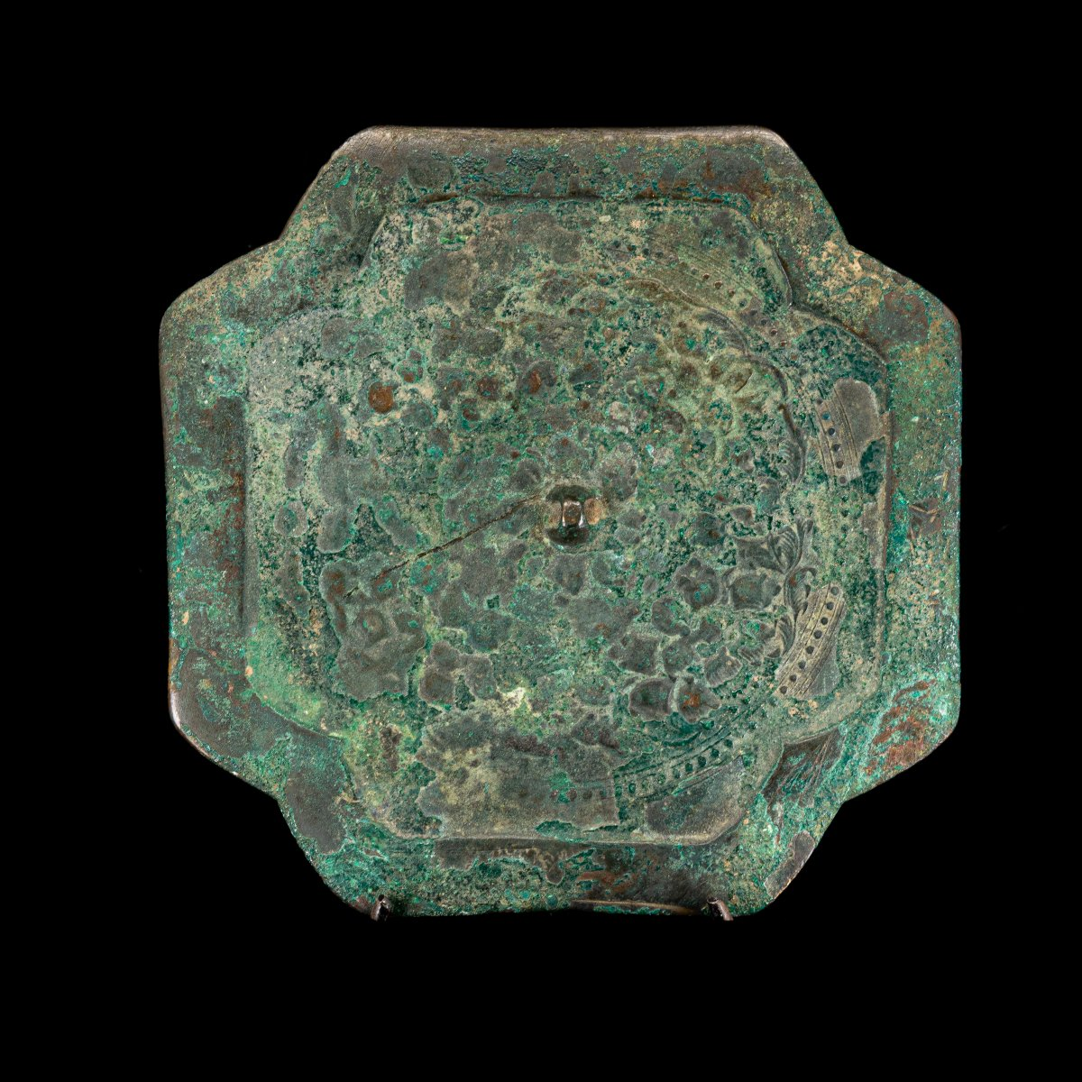 Cross-shaped Mirror - Northern Song (960 - 1127 Pcn)