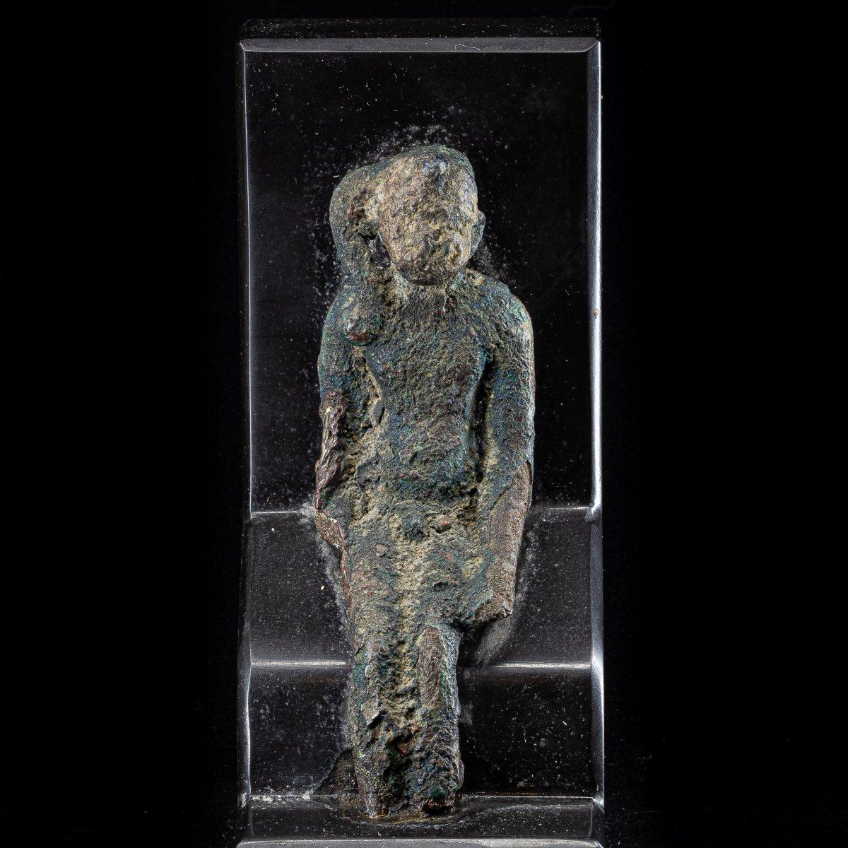 Bronze Harpocrates - Egypt - Late Period