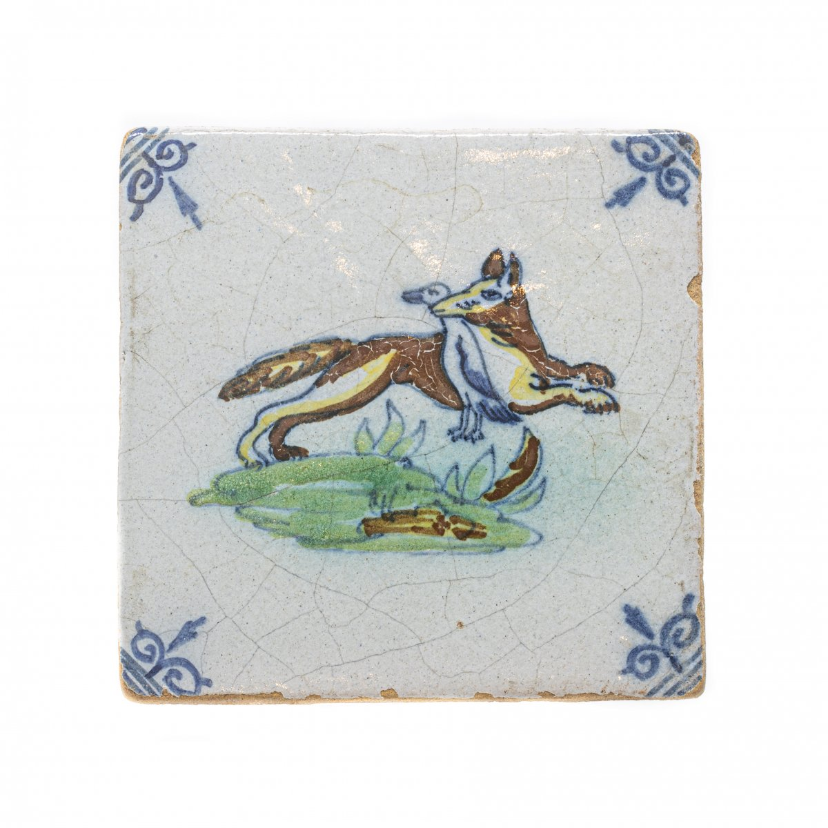 A Fox Holding A Duck - Netherlands, 2nd Half Of The 17th Century