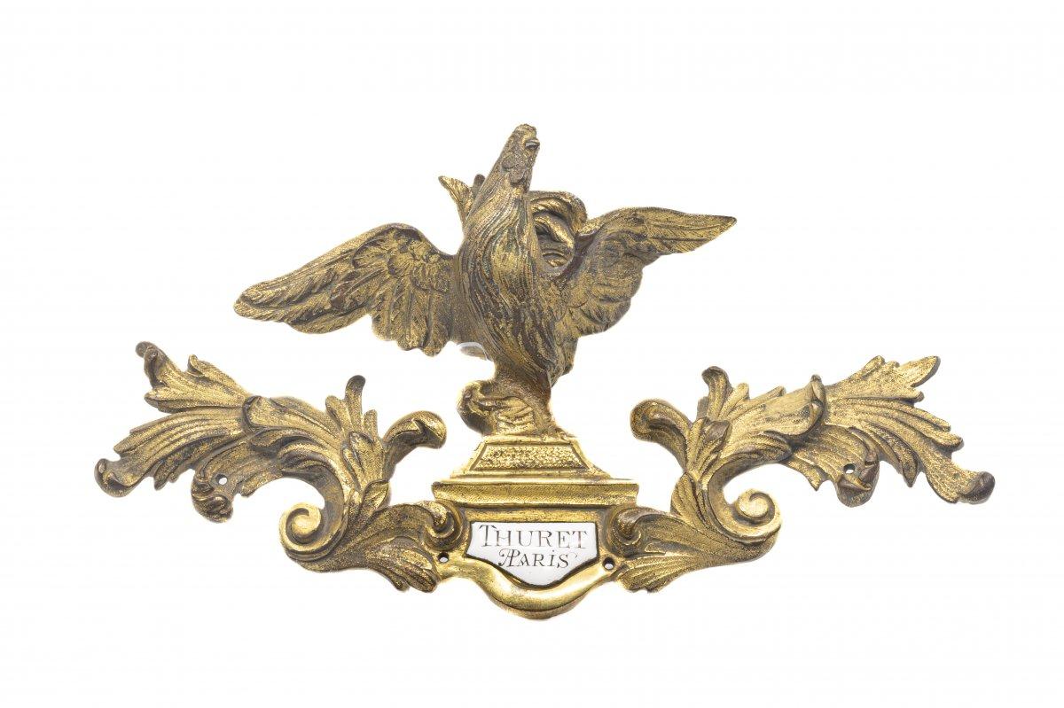 Element Of A Gilded Bronze Clock - France, Paris (thuret(s) (ca 1630-1738))