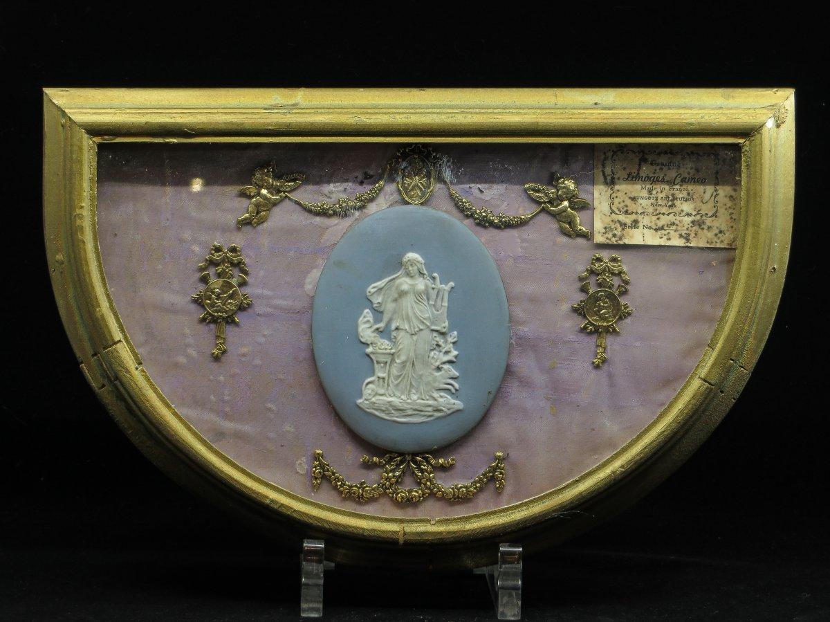 Plaque En Céramique En Camée - Limoges (?), 19e siècle
