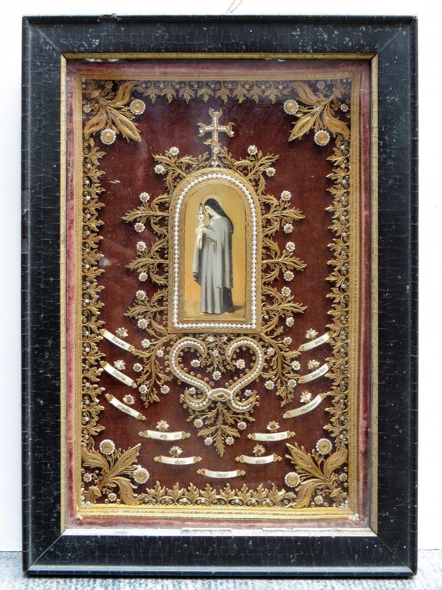 Reliquary - Carmelite Order - 18th Century
