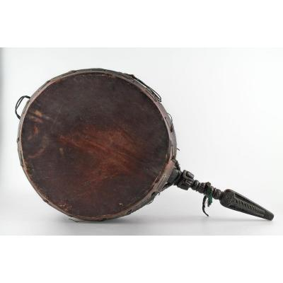 Drum Called Dhyangro - Nepal - 19th Century