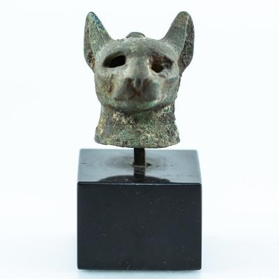 Votive Head Of Goddess Bastet