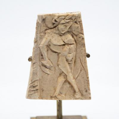 Carved Bone Representative A Dancing Man - Roman 4th-3rd Cent Acn