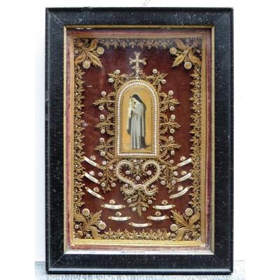 Reliquaire - Ordre Du Carmel - 18e Siècle