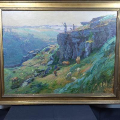 Tableau De Georges Redon(1869-1943)