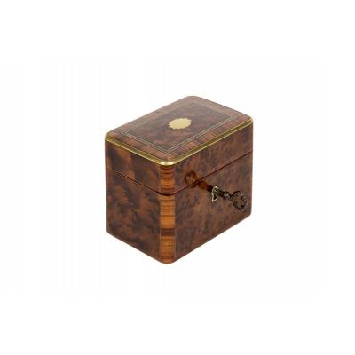 0001 / 0962d Napoleon III Rosewood Money Box