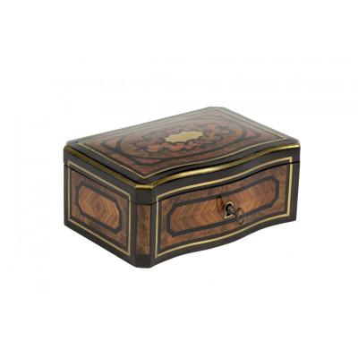 0011/0959 Napoleon III Period Jewelry Box