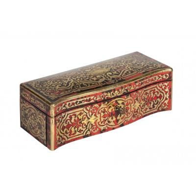 0018/0978 Glove Box In Boulle Marquetry