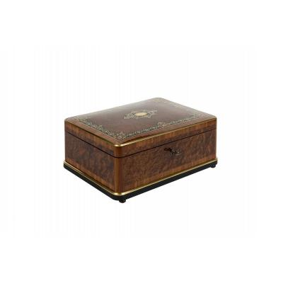 0029/0996 Thuja And Rosewood Jewelry Box