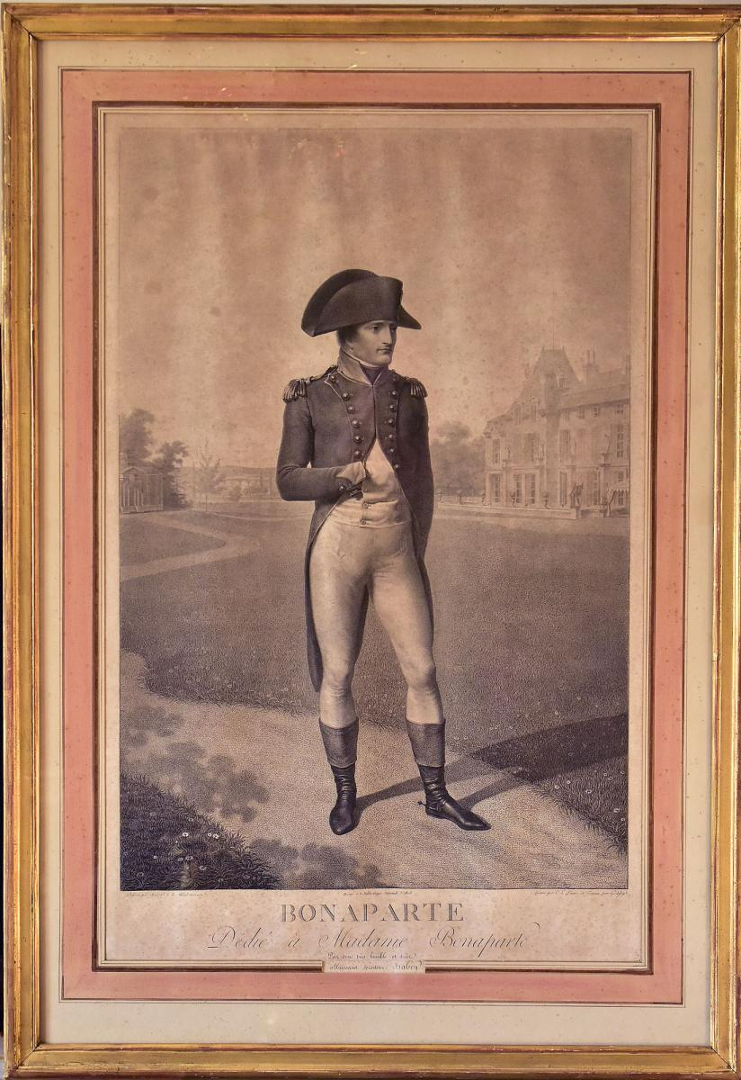 Lithograph By Napoleon Bonaparte After Isabey