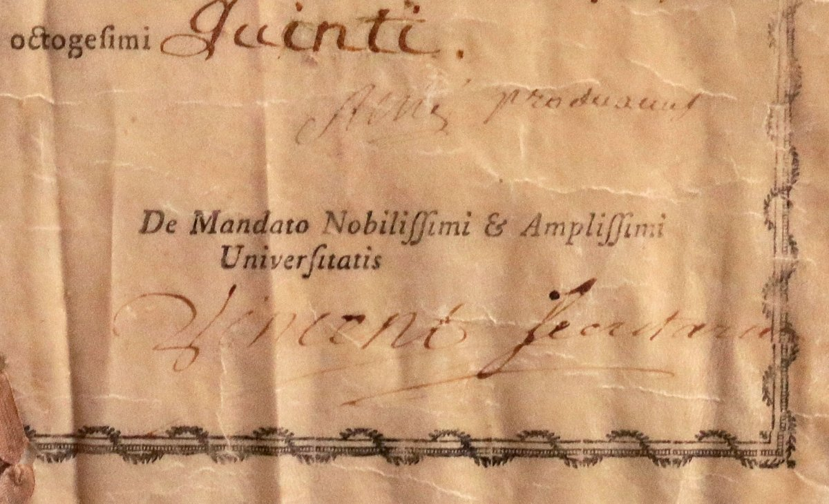 Bachelor's Degree In Medicine From The University Of Montpellier 1785-photo-4