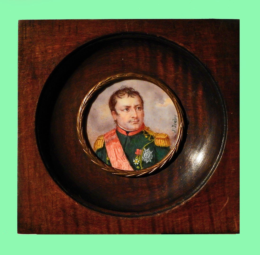 3 Miniatures Of The Imperial Family Napoleon 1st-photo-2
