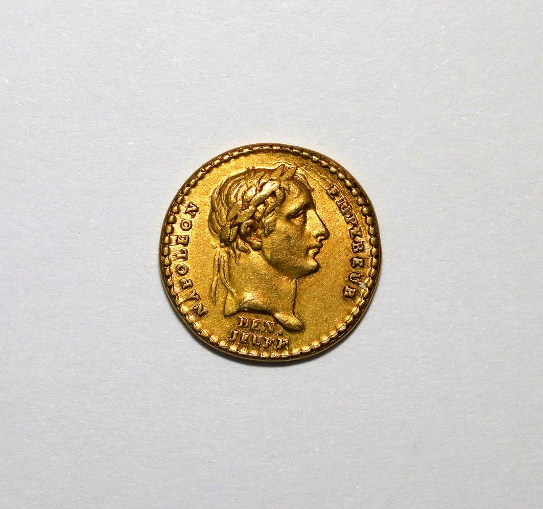 Médaille En Or Du Sacre De Napoléon