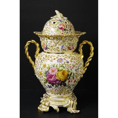 Pot-pourri En Porcelaine De Paris Jacob Petit Et Rihouet
