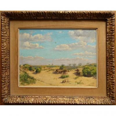 Impressionist Painting By Jean Crets (1926) Reference Benezit