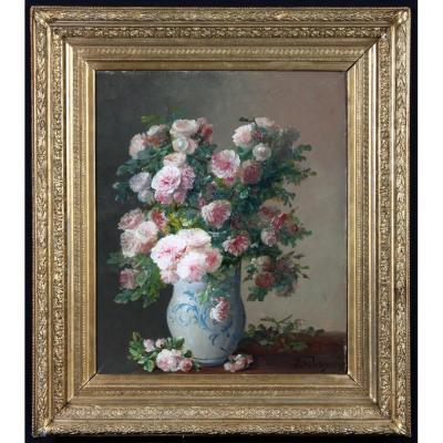 Eugène Petit 1838/1886– Bouquet De Fleurs - Ecole Française Du XIXème