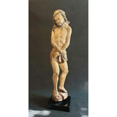 Christ With Links In Oak Early 17th Century