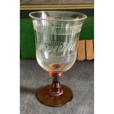 Glass «amitié «