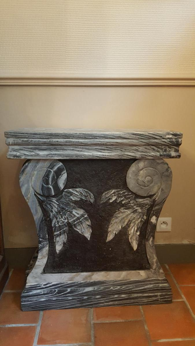 Carved Marble Table Feet