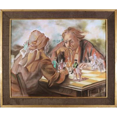 Jean d'Esparbès, Joueurs d'échecs