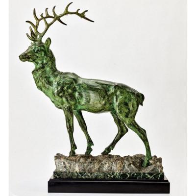 Deer In Majeste