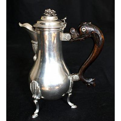 Silver Tripod Coffee Maker