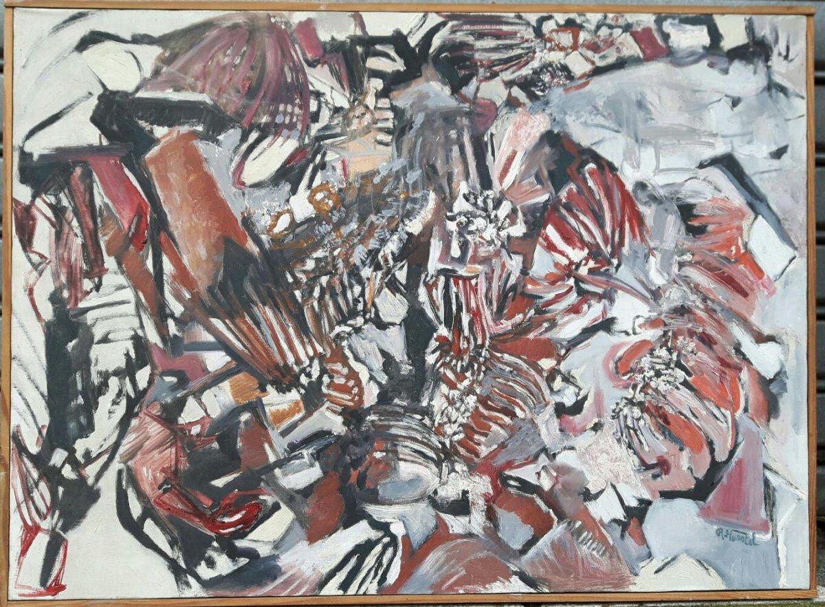 Peinture, Tableau Abstrait de Raoul Hurstel