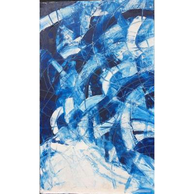 Tableau, Peinture Abstraite de Daniel Thèron