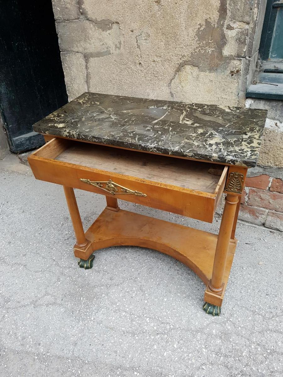 Empire Console With Claw Feet