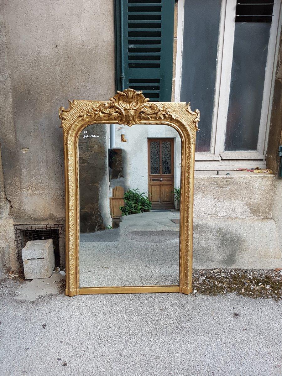 Mirror Napoleon III 145x98cm