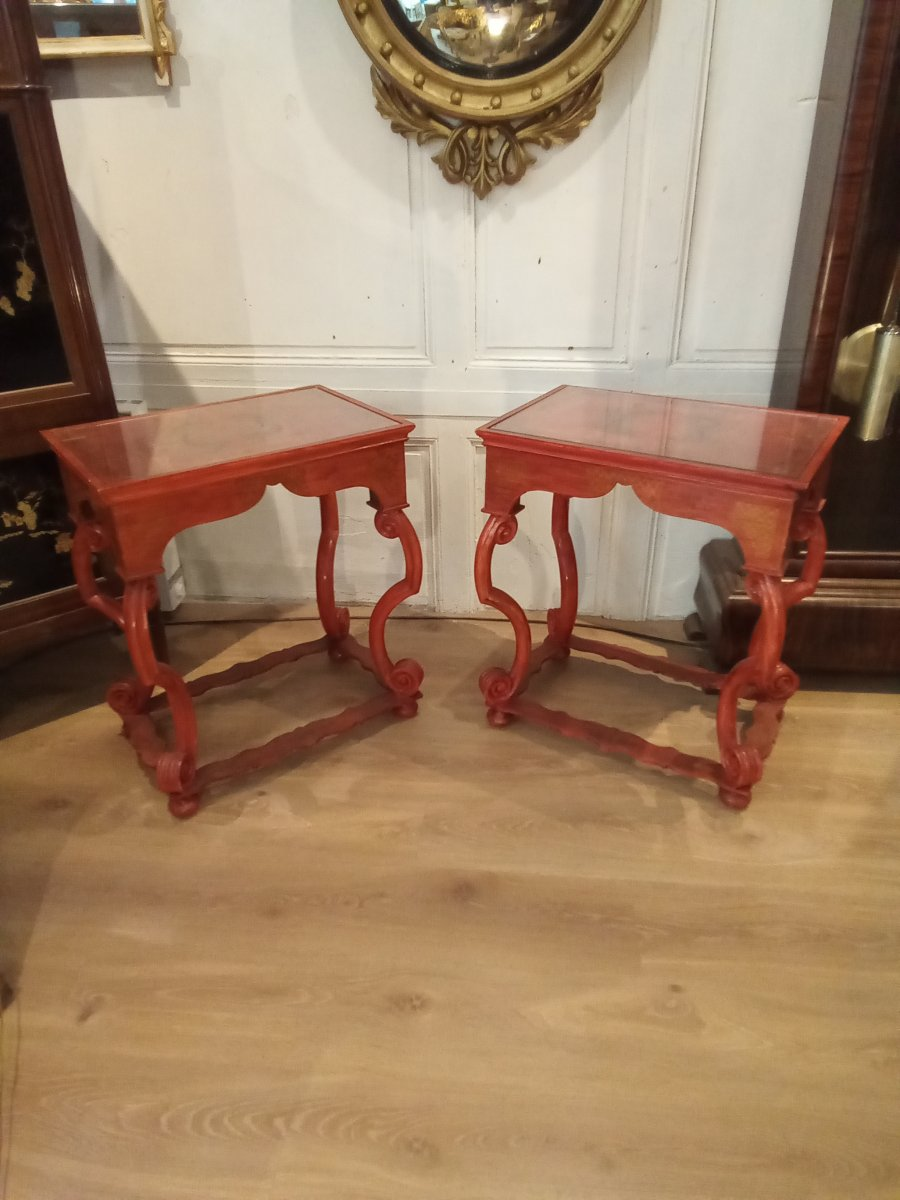 Pair Of Living Room Tables