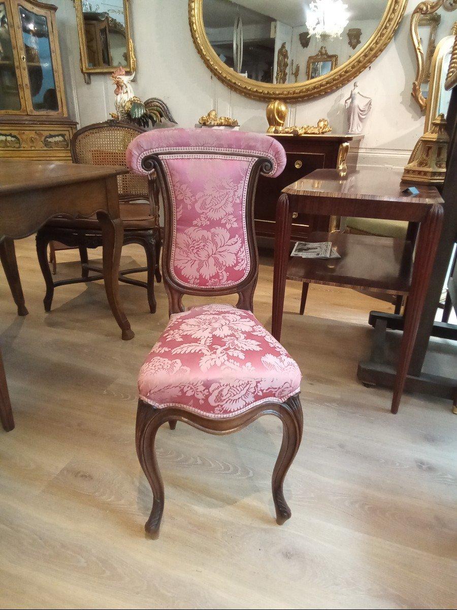 Chaise Ponteuse De Style Louis XV-photo-2