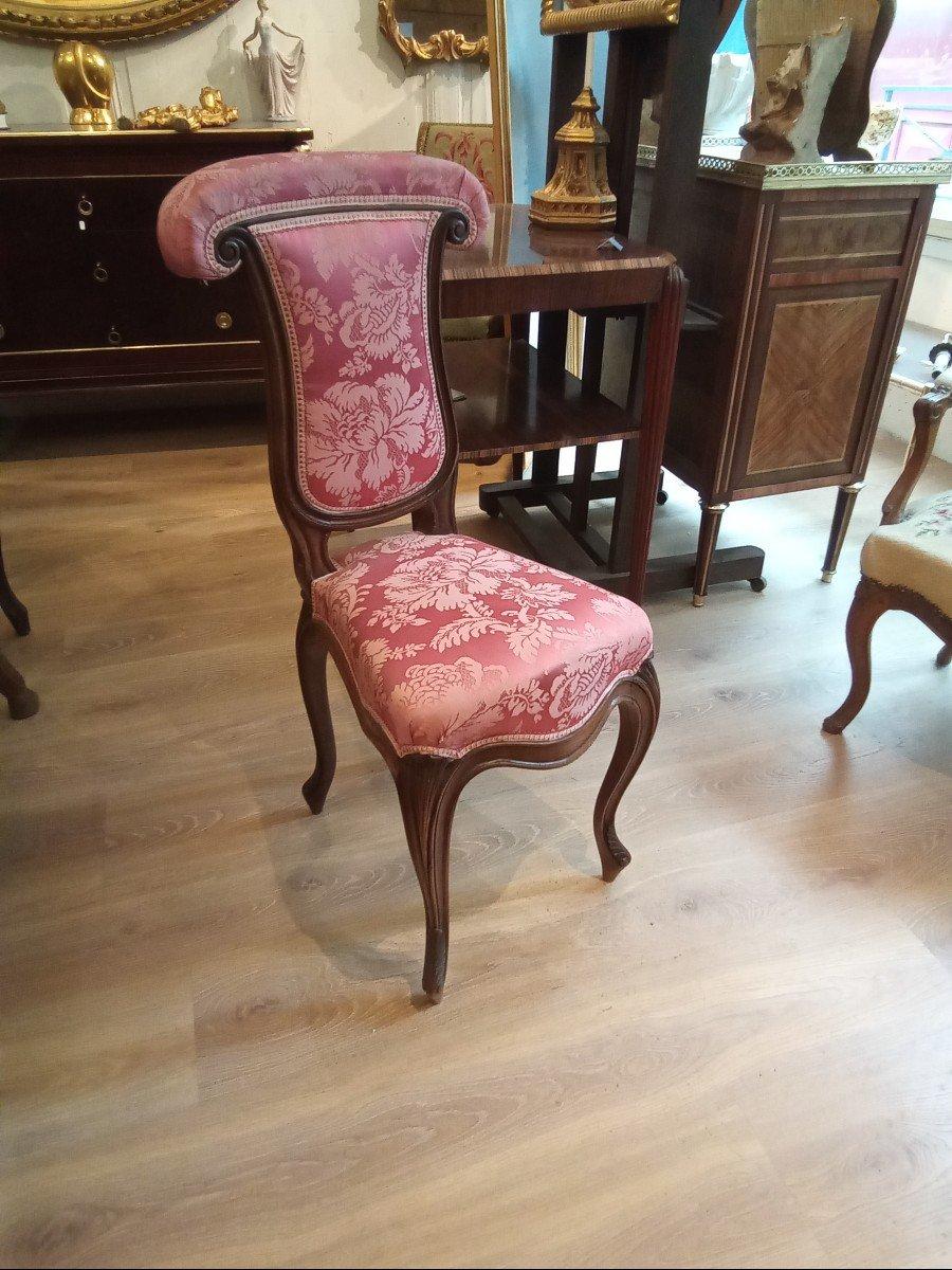 Chaise Ponteuse De Style Louis XV-photo-3
