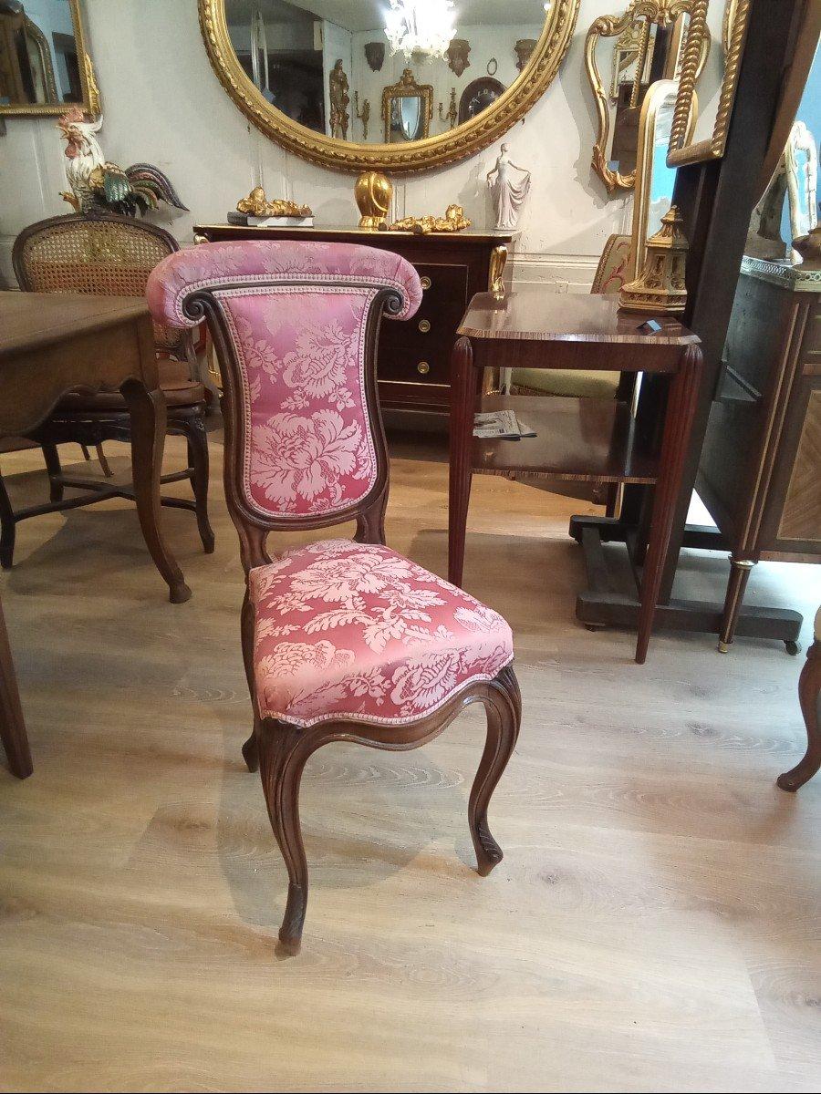 Chaise Ponteuse De Style Louis XV